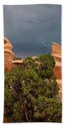 Lightning Devils Garden Escalante Grand Staircase Nm Utah Bath Towel
