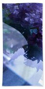 Lilac Glass Bath Towel