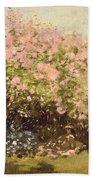 Lilac In The Sun, 1873 Bath Towel