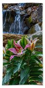Lilies Of The Falls Hand Towel
