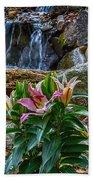 Lilies Of The Falls Bath Towel
