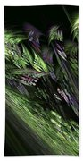 Lilies Of The Fractal Valley Bath Towel