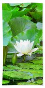 Lilly Pad Bath Towel