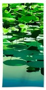 Lilly Pads Of Reelfoot Lake Hand Towel