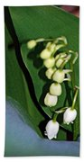 Lily Of The Valley Bath Towel