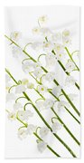 Lily-of-the-valley Flowers Bath Towel