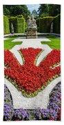 Linderhof Palace Gardens - Bavaria - Germany Bath Towel