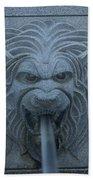 Lion Head Bath Towel