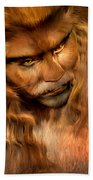 Lion Man Bath Towel
