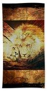 Lion Tapestry - Soulmates Bath Towel