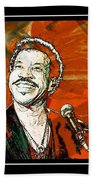 Lionel In Red Bath Towel