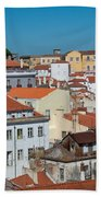 Lisbon Alfama District Bath Towel