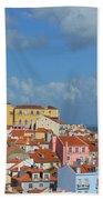 Lisbon Portugal Bath Towel