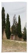 Little Chapel On A Hill Bath Towel