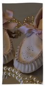 Little Girls To Pearls Hand Towel