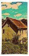 Little House - The World Around New York City Bath Towel