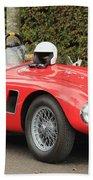 Little Red Ac Bristol Racer Bath Towel
