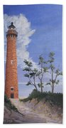 Little Sable Point Lighthouse Hand Towel