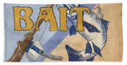 Live Bait Bath Towel