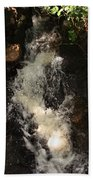 Llangollen And Maelor Country Waterfalls Bath Towel