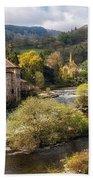 Llangollen And The River Dee Bath Towel