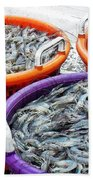 Loaves And Fishes Bath Towel