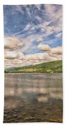Loch Fyne Digital Painting Bath Towel
