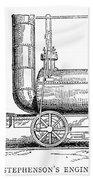 Locomotive, 1815 Bath Towel