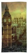 London - Big Ben Bath Towel