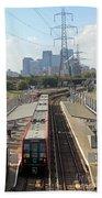 London Skyline Bath Towel