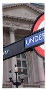 London Underground 1 Bath Towel