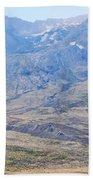 Lone Evergreen - Mount St. Helens 2012 Bath Towel