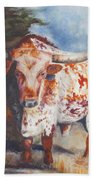 Lone Star Longhorn Bath Towel