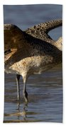 Long-billed Curlew Bath Towel