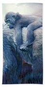 Silverback Gorilla - Long Journey Home Bath Towel