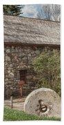 Longfellow's Wayside Inn Grist Mill Bath Towel