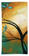 Longing By Madart Bath Towel
