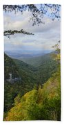 Looking Down The Canyon Hand Towel