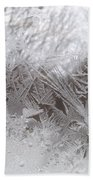 Looking Through The Frost Iv Bath Towel