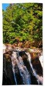 Looking Up At Victoria Falls Bath Towel
