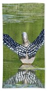 Loon Wings Bath Towel
