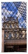 Louvre Museum Paris France Bath Towel