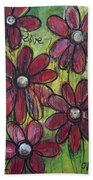 Love For Five Daisies Hand Towel