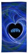 Love - Love - Love Bath Towel