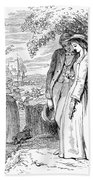 Love Lyrics And Valentine Verses, 1875 Bath Towel