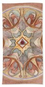 Love Mandala Bath Towel