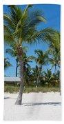 Lovely Beach On Key West East Side Bath Towel