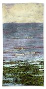 Low Tide At Sunrise Bath Towel