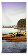 Low Tide Revelations Bath Towel