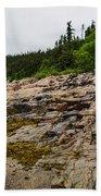 Low Tide - Walking On The Bottom Of Saint Lawrence River Bath Towel